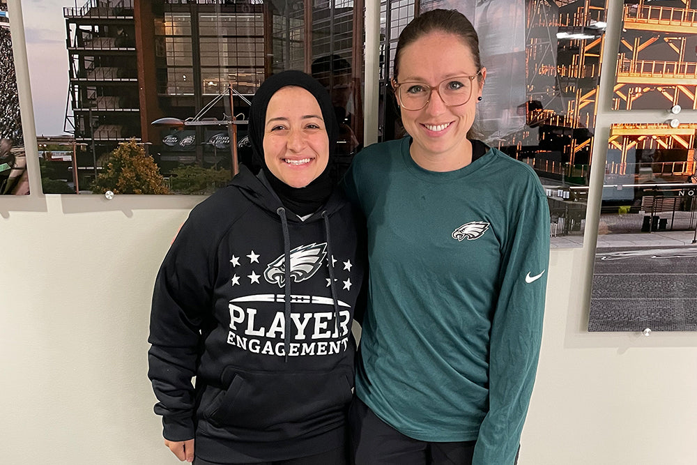 Chompians of the month: Ameena Soliman and Catherine Raiche