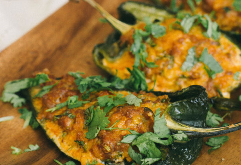 Easy Stuffed Peppers with Chorizo and Cheese Recipe