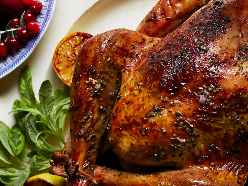 Sweet Herb Keto Thanksgiving Turkey Recipe