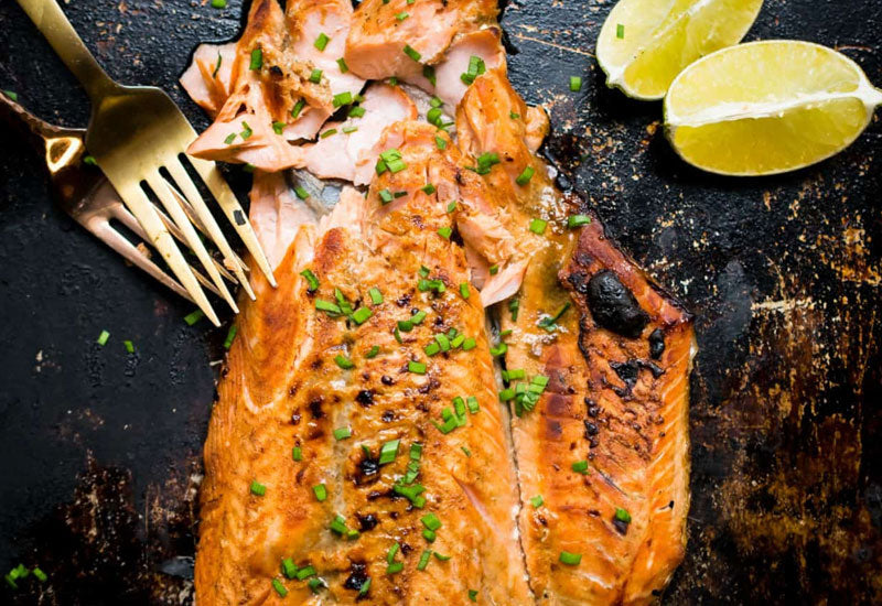 Broiled Whole30 Salmon