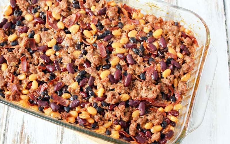 Weight Watchers Healthy Baked Beans With Ground Turkey Recipe