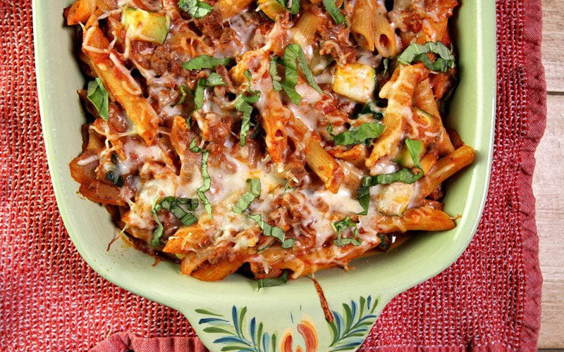 Weight Watchers Cheesy Beef and Pasta Casserole Recipe