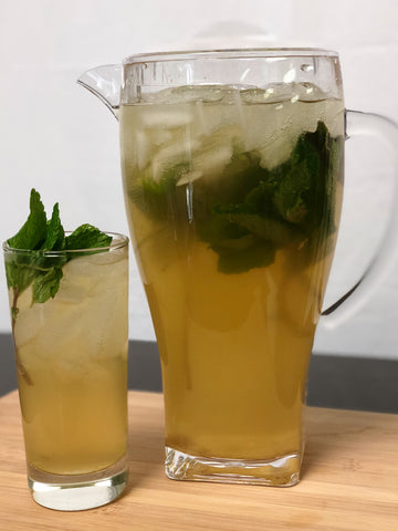 Iced Ginger Mint Green Tea