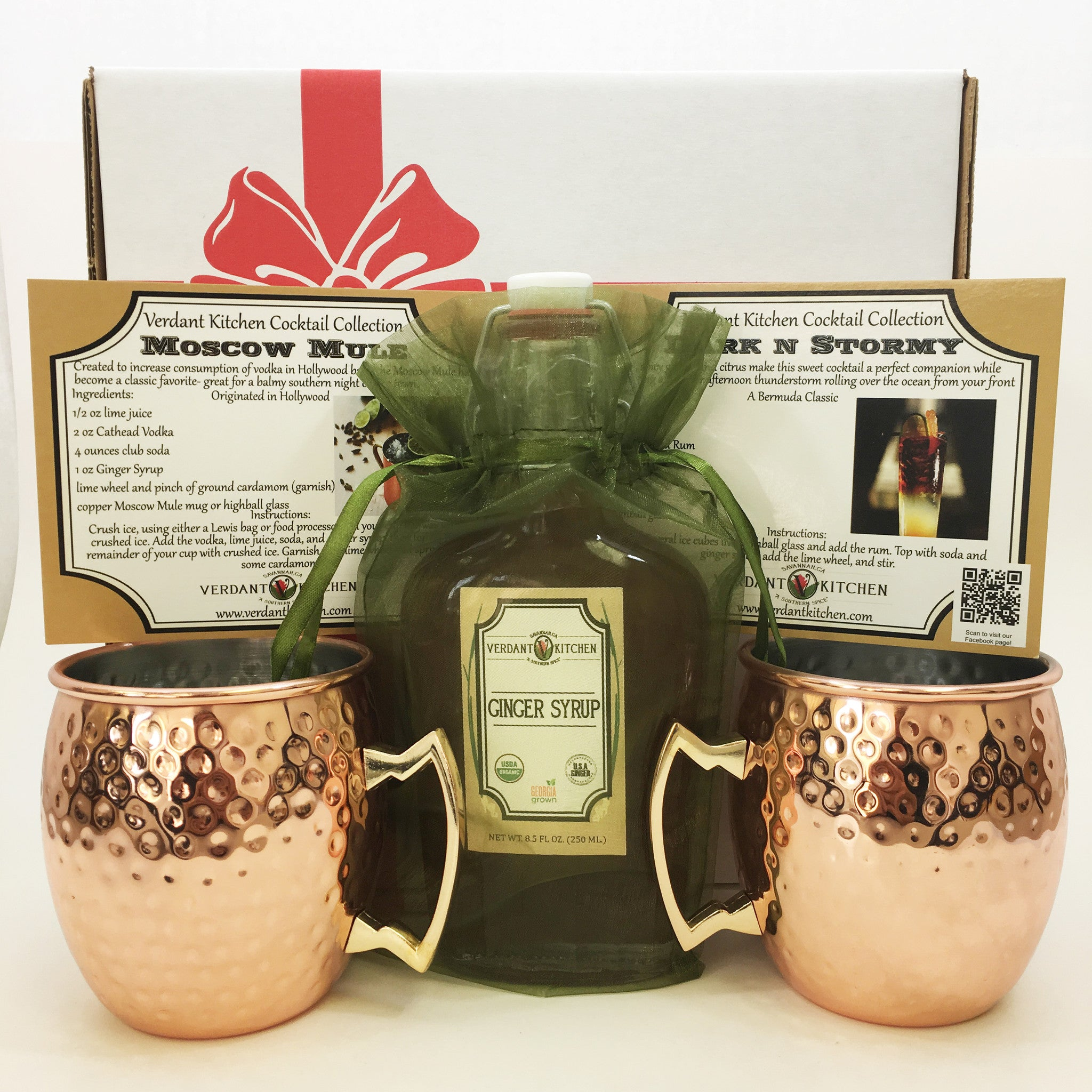 Moscow Mule Cocktail Gift Set Verdant Kitchen