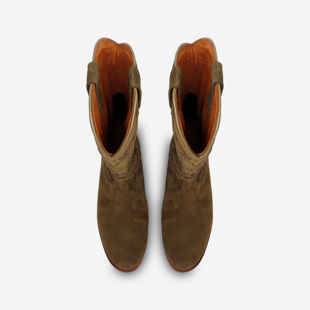 MIDNIGHT BOOTS OLIVE