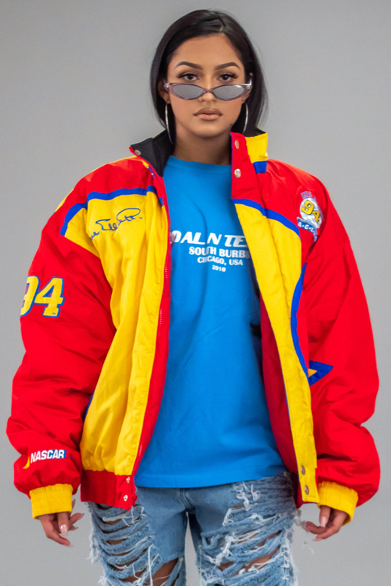 VTG MCDONALDS RACING PUFF JACKET