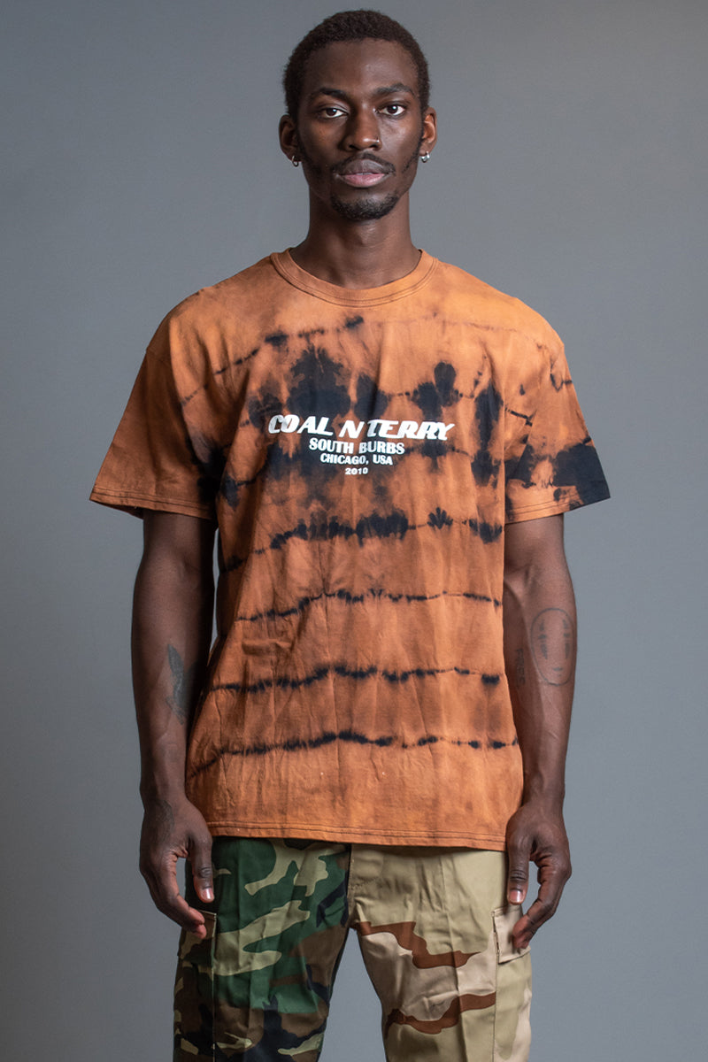 GUYS RUSTED BURBS TEE