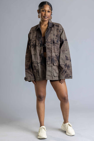 Chocolate N Orange Burbs Tee