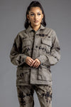 CNT COMBAT JACKET - LIGHT ACID