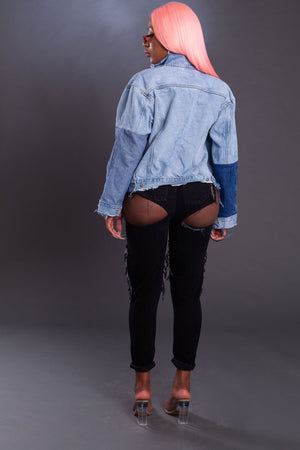 IKEJA PATCH JACKET