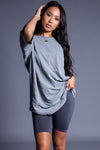 BASIC TEE - LIGHT GREY