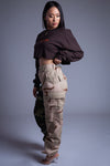 CNT COMBAT PANTS - TWO TONE CAMO