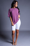 BASIC TEE - PURPLE
