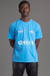 GUYS BLUE TEAM GREECE TEE