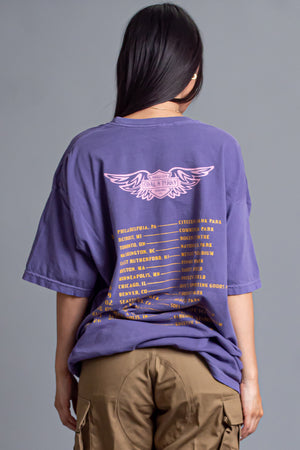 PURPLE N GOLD TOUR LIFE TEE