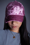PURPLE SKIES VELVET HAT