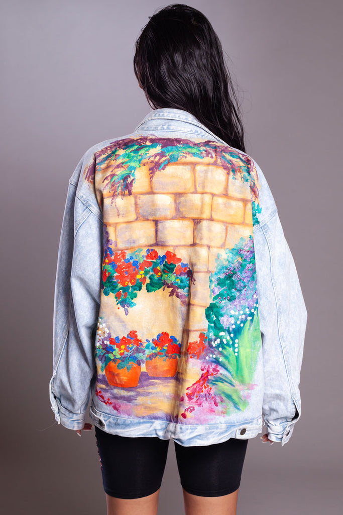 PAINT ON DENIM JACKET