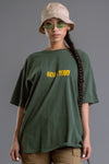 HEMP N YELLOW MINI MEDI TEE