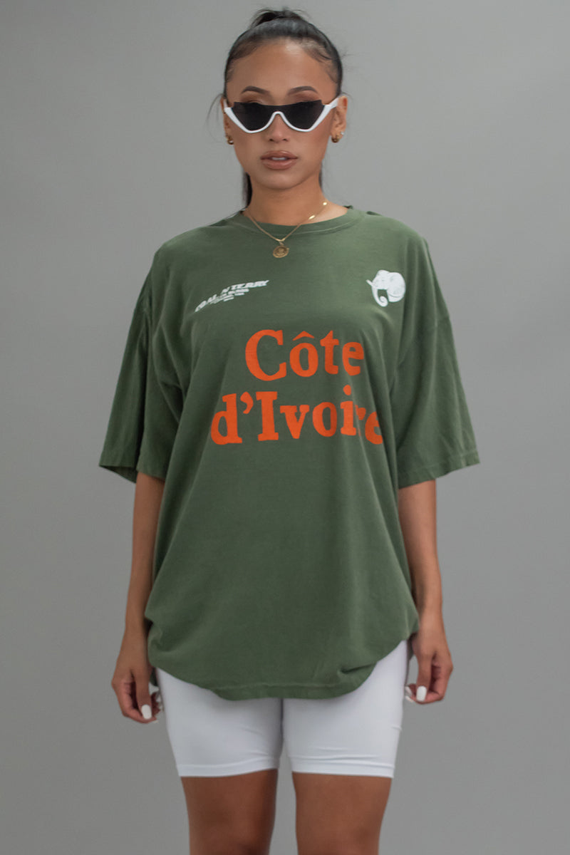 HEMP TEAM COTE D' IVOIRE TEE