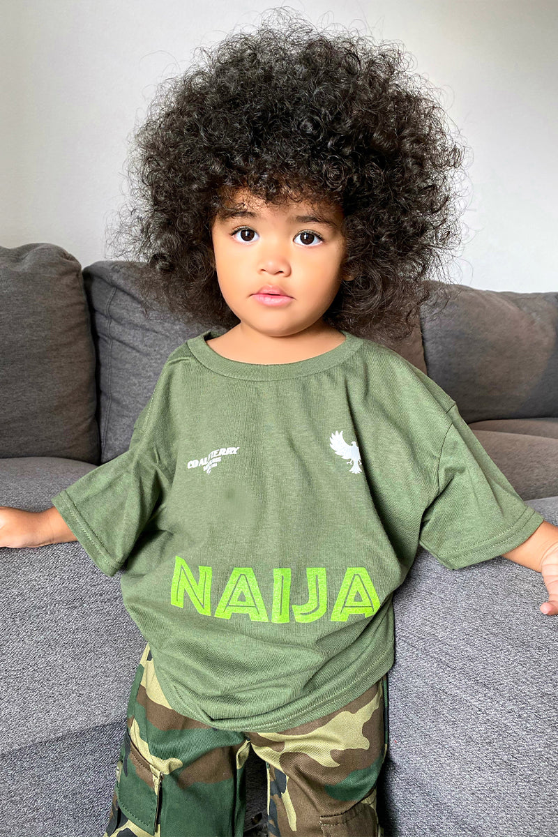 KIDS HEMP TEAM NAIJA TEE