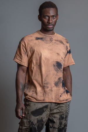 GUYS BASIC RUSTED TEE