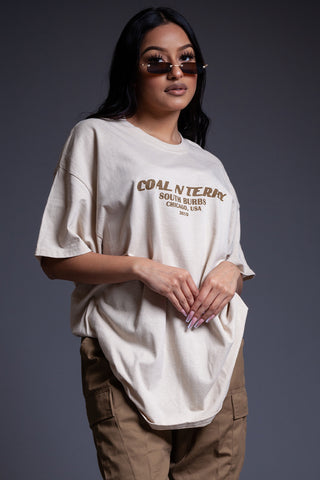 BASIC RUSTED CROP TEE