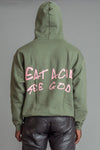 GUYS HEMP N PINK EAT ACID HOODIE