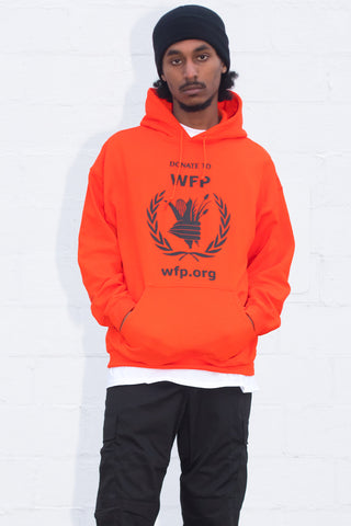 BLK N ORANGE MINI MEDI HT HOODIE