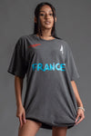 DARK GREY TEAM FRANCE TEE