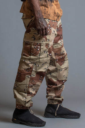 GUYS TRI COLOR CAMO PANTS