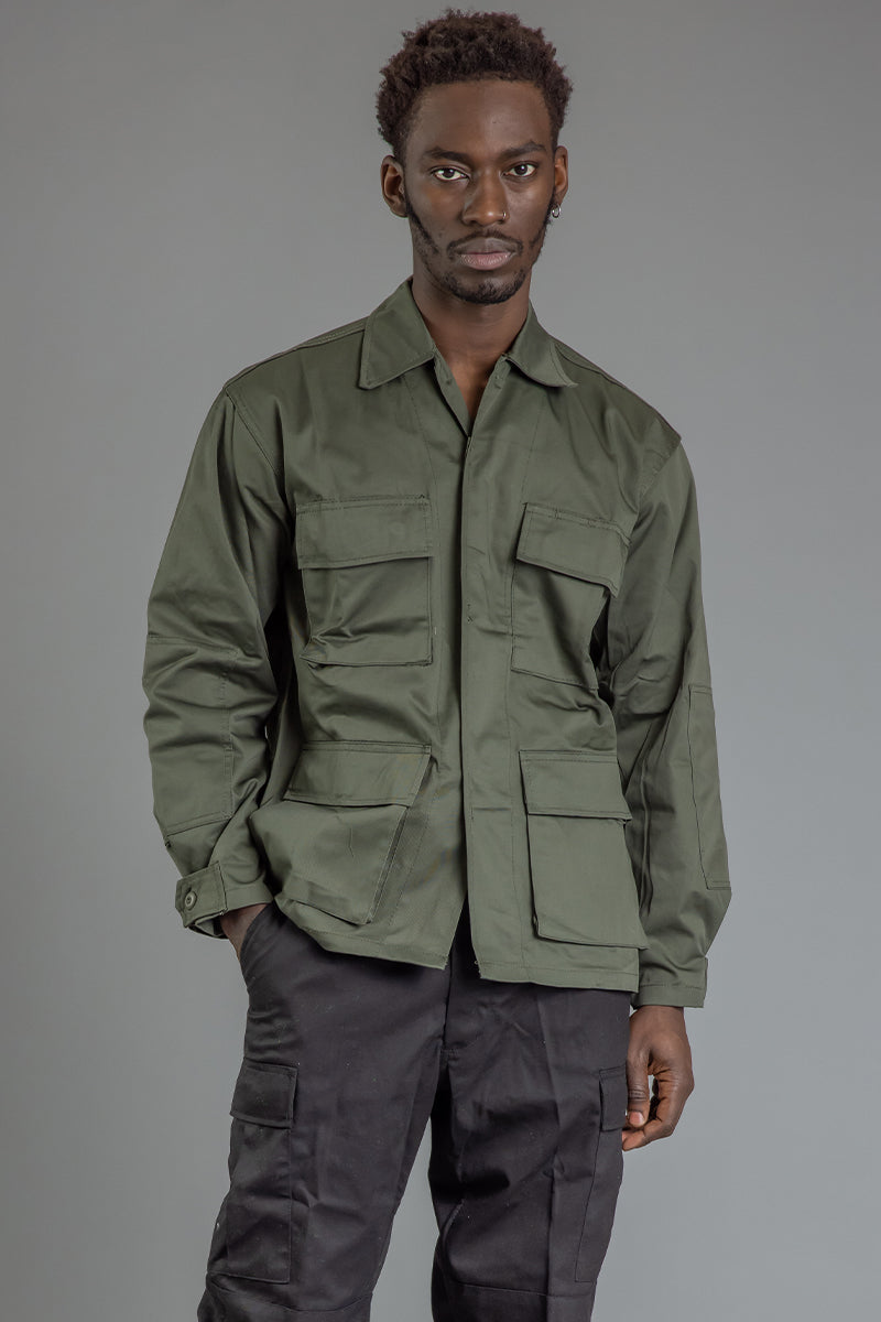 GUYS CNT COMBAT JACKET - GREEN