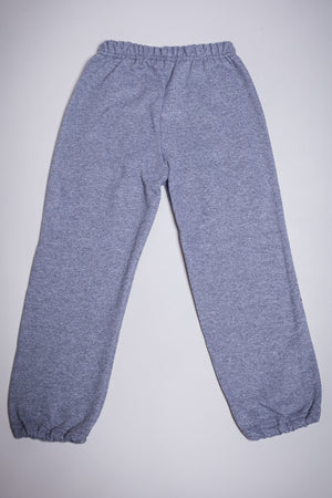 KIDS GREY N BLK MINI MEDI SWEAT PANTS