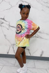 KIDS TIE DYE KILLING IT TEE