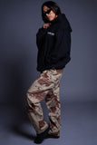 TRI COLOR CAMO PANTS