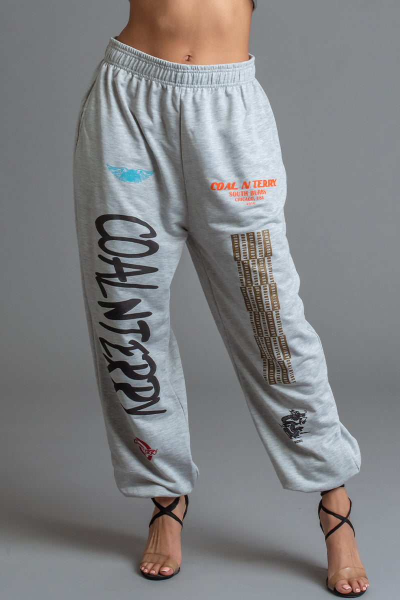 LIGHT GREY CNT RAGER JOGGER