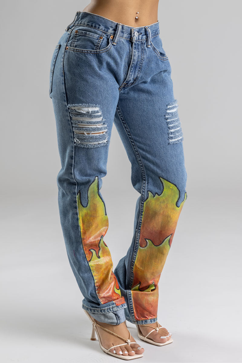 BLUE FLAME JEANS