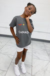 KIDS GREY TEAM CANADA TEE