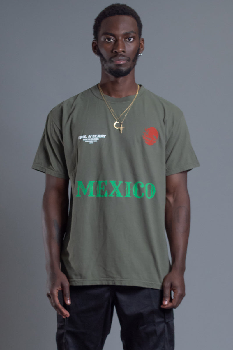 GUYS HEMP TEAM MEXICO TEE