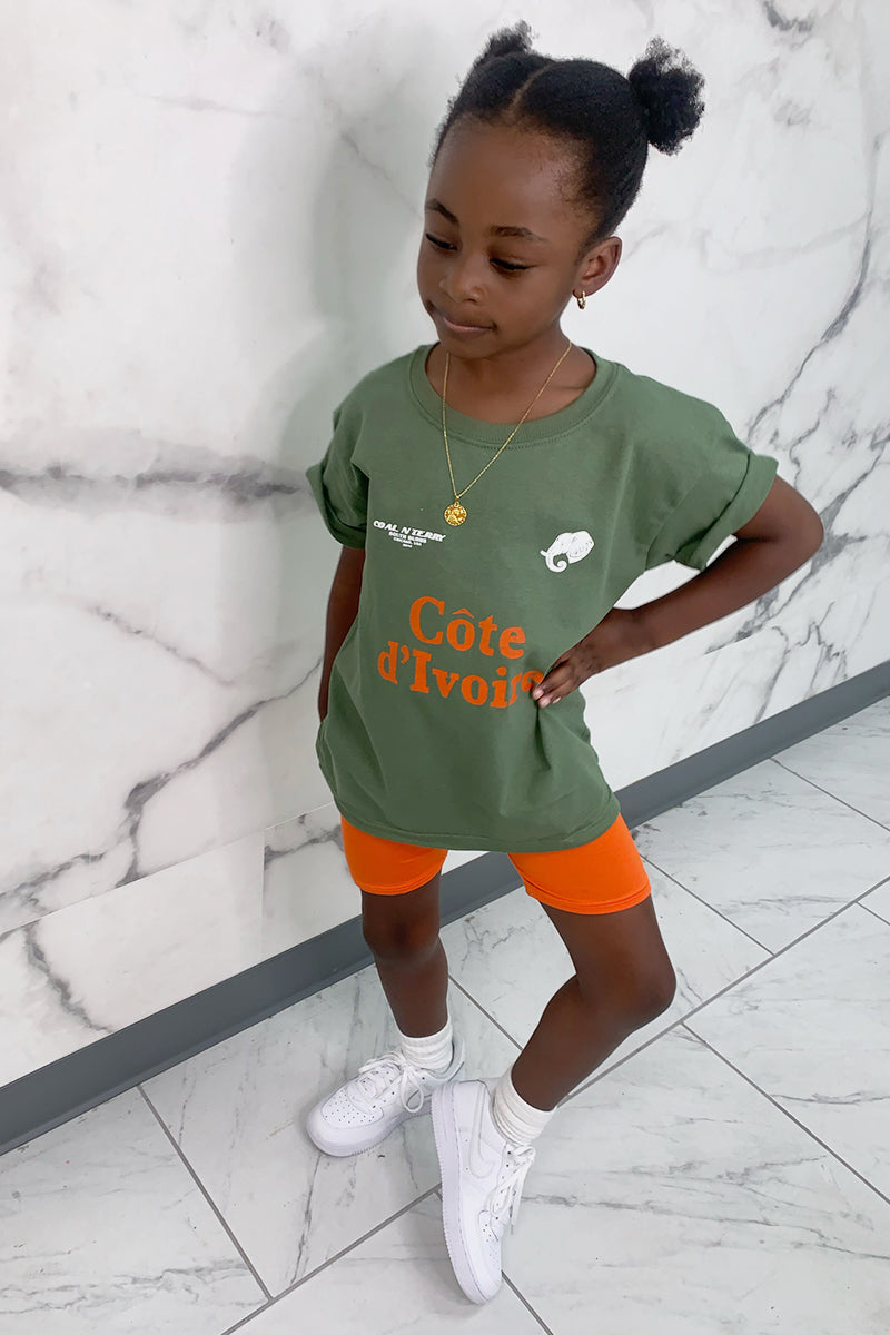 KIDS HEMP TEAM COTE D' IVOIRE TEE