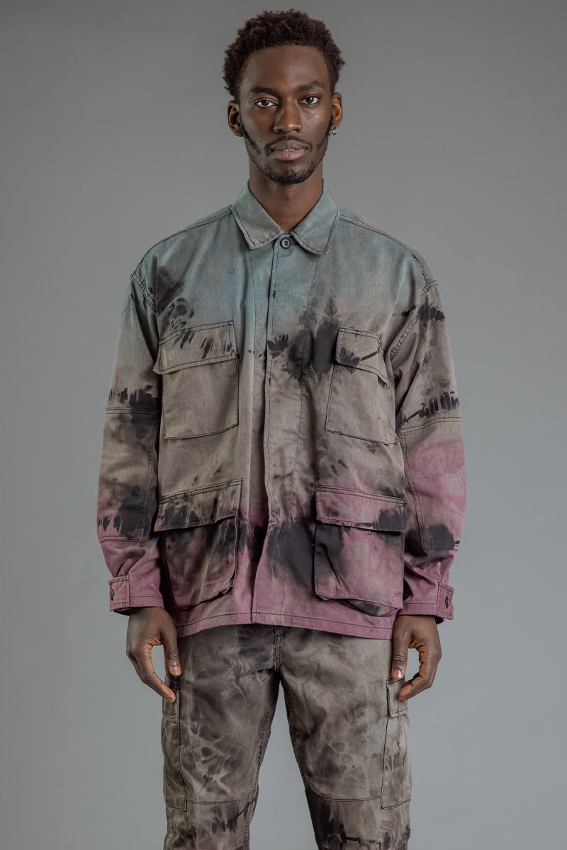 GUYS CNT COMBAT JACKET - DYED ACID