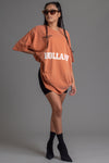 BURNT ORANGE TEAM HOLLAND TEE