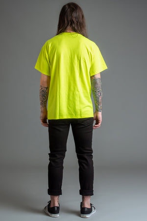 GUYS NEON GREEN FTB TEE