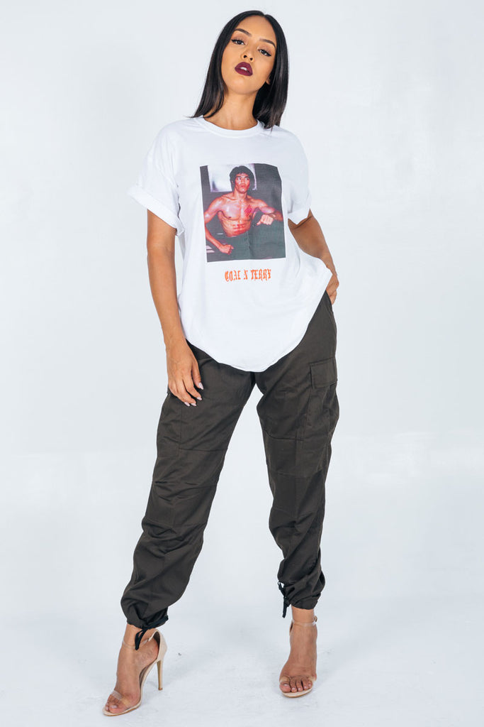 BRUCE LEE MINI MEDI TEE