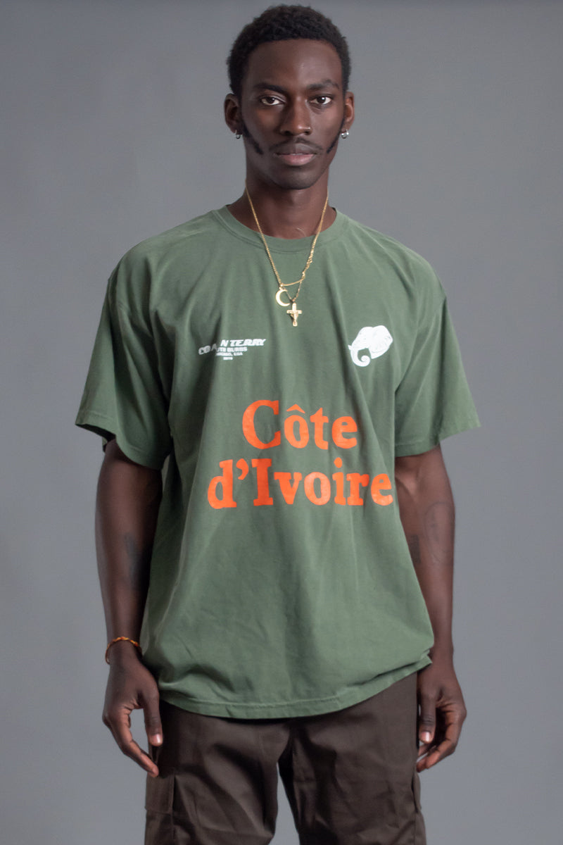 GUYS HEMP TEAM COTE D' IVOIRE TEE