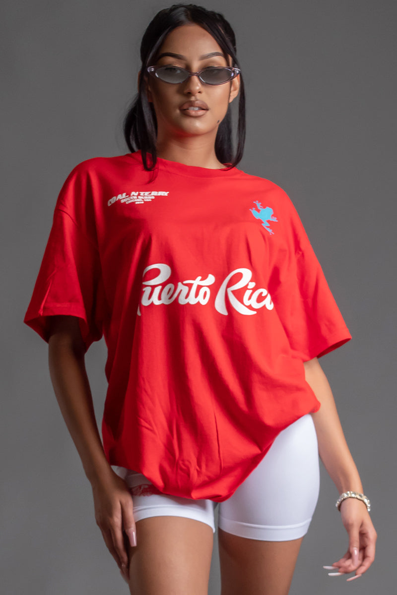 RED TEAM PUERTO RICO TEE