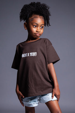 Chocolate N White Yves Tee