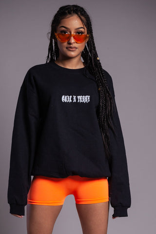 CHOCOLATE N ORANGE MINI MEDI CROP TEE - DIS