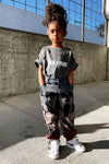 KIDS CNT COMBAT PANT - DYED ACID