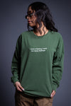 HEMP N WHITE LONG SLEEVE TOO MANY FEELINGS TEE