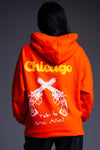ORANGE TALK TO ME NICE HOODIE